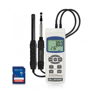 AM-4234SD Hot wire Anemometer-SD Card Data Logger