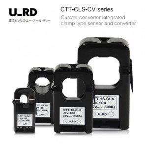 U_RD CTT-CLS-CV series Current converter integrated clamp type sensor and converter (50A to 500A)