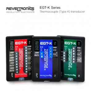 REVELTRONICS EGT-K Series ตัวแปลงสัญญาณ Thermocouples (Type K) | Output 0-5V