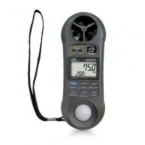 LM-9000 Anemometer and Air Flow 7 in 1