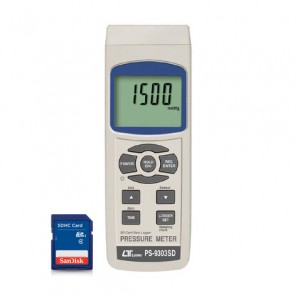 PS-9303SD Pressure meter - SD Card Data Logger