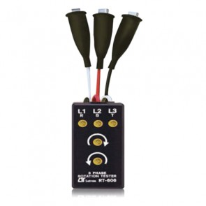 RT-606 3 Phase Rotation Tester