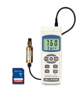 VC-9210SD Vacuum Meter - SD Card Data Logger