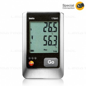 Testo176H1 4 channel Humidity and Temperature data logger