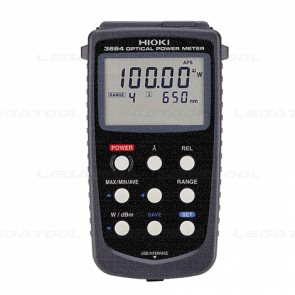 HIOKI 3664 POTICAL POWER METER เครื่องวัดแสงเลเซอร์ (Blue-Ray, High Definition DVD to Near-Infrared Rays)