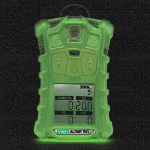 MSA ALTAIR-4X-LEL-Pentane Multi Gas Detector 4 in 1 Phosphorescent Body