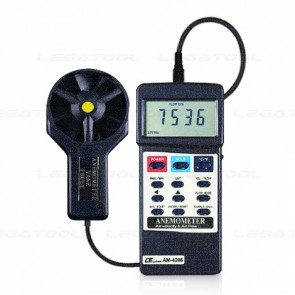 AM-4206 Anemometer, Air Flow-Vane Type