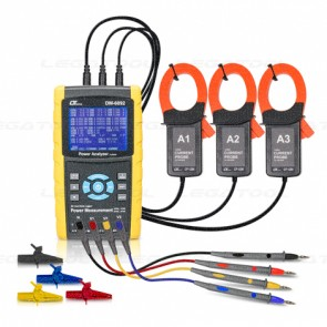 DW-6092SD Power Analyzer 3 Phase - SD Card Data logger