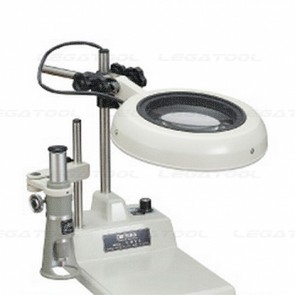 ENVL-Ax100-10X LED Illuminated Magnifier with Dimmer