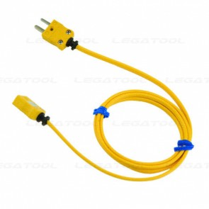 Rixen Extension Cable for Thermocouple Type K (1m.)
