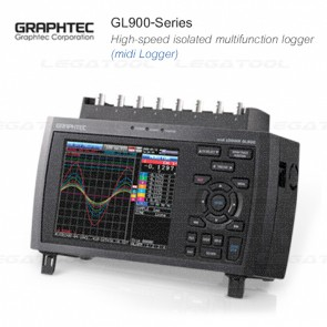 Graphtec GL900-Series High-speed isolated multifunction logger (midi Logger)