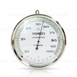 HIGHEST I Hair Hygrometer with Thermometer