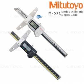 Mitutoyo M-571 ABSOLUTE Digimatic Depth Gage Series เกจวัดความลึก