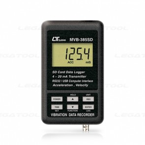 MVB-385SD Vibration Meter - SD Card Data Logger