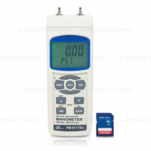 PM-9117SD Manometer - SD card Data Logger (101.5 psi)