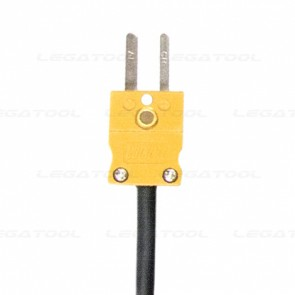 SK Sato MC-K7105 โพรบวัดอุณหภูมิ Duplex wire probe (Stainless steel shield wire) Max.300 ℃ (Type K)