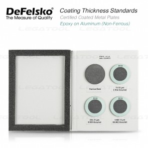 DeFelsko PT-STD-A Series Certified Coated Metal Plates
