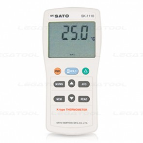SK Sato SK-1110 Jumbo LCD Digital Thermometer (1 Channel)