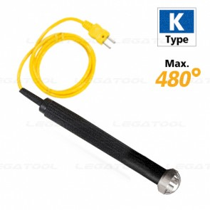 Rixen SK-42 Thermocouple Surface Type Max.480℃ (Type K) (Temperature probe)