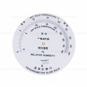 skSATO SK-7450-80 Humidity Conversion Rule for SK-RHG