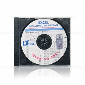 SW-E803 Excel Data Acquisition Software
