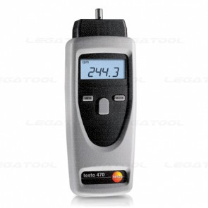Testo 470 Laser and Contact Tachometer