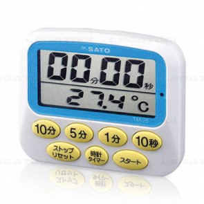 SK Sato TM-25 Timer with Digital Thermometer