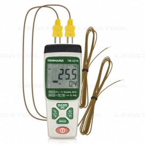 Tenmars TM-321N Digital Thermometer Type K (Dual)