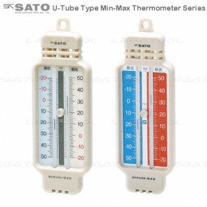 SK Sato U-Tube Type Min-Max Thermometer Series