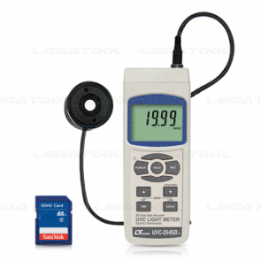 Lutron UVC-254SD Meter-SD Card Data Logger