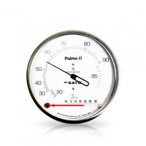 PALMA II Hair Hygrometer with Thermometer