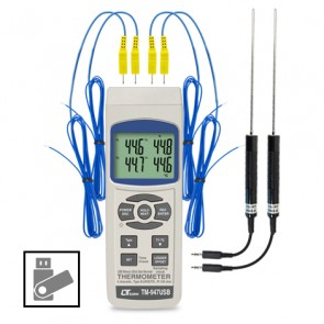 Lutron TM-947USB 4 Channels Thermometer
