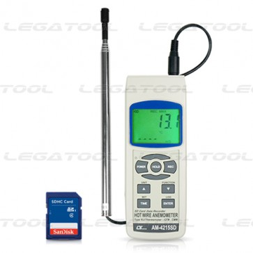 Lutron AM-4215SD Hot Wire Anemometer