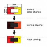 NiGK A Series Temperature Combination label | 65 to 90°C | 80pcs/ 1pack