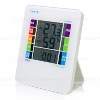 SK Sato PC-7980GTI Digital Thermohygrometer with WBGT