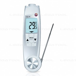 Testo-104-IR Dual purpose IR and penetration thermometer | IP65
