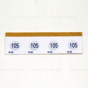 Asey 1K Series Temperature Label (1 point) | 20pcs/ 1pack