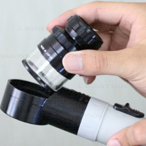 Peak 2044 Zoom Scale Lupe | Magnification 8X to 16X