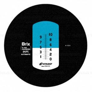Atago MASTER-10PT Brix Refractometer