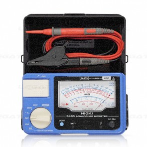 Hioki-3490 Analog Insulation Resistance Tester