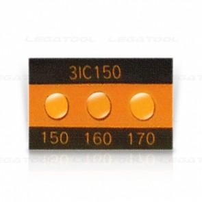 Asey 3IC150-P20 Temperature label 3 points (150/160/170°C) | 20pcs/ 1pack