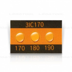 Asey 3IC170-P20 Temperature label 3 points (170/180/190°C) | 20pcs/ 1pack