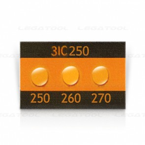 Asey 3IC250-P20 Temperature Label 3 points (250/260/270°C) | 20pcs/ 1pack
