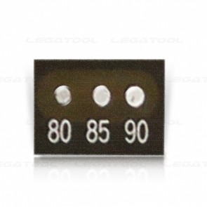Asey 3SS80-P20 Temperature Label 3 points (80/85/90°C) | 20pcs/ 1pack