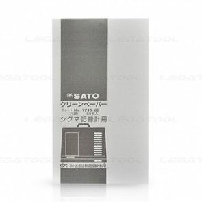 SK Sato SK-7210-62 7 Day chart สำหรับเทอร์โมไฮโกรกราฟ NSII