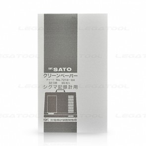 SK Sato SK-7210-64 32day Chart สำหรับเทอร์โมไฮโกรกราฟ NSII