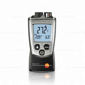 Testo810 Pocket-sized temperature measuring instrument