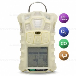 MSA ALTAIR-4X-LEL-Pentane Multi Gas Detector 4in1 Phosphorescent Body