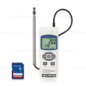 Lutron AM-4214SD Hot wire Anemometer - SD Data Logger