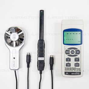 Lutron AM-4247SD Metal vane Anemometer 7 in 1   SD Card